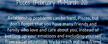 Your Weekly Star Sign  – 29 February – 6 March 2016