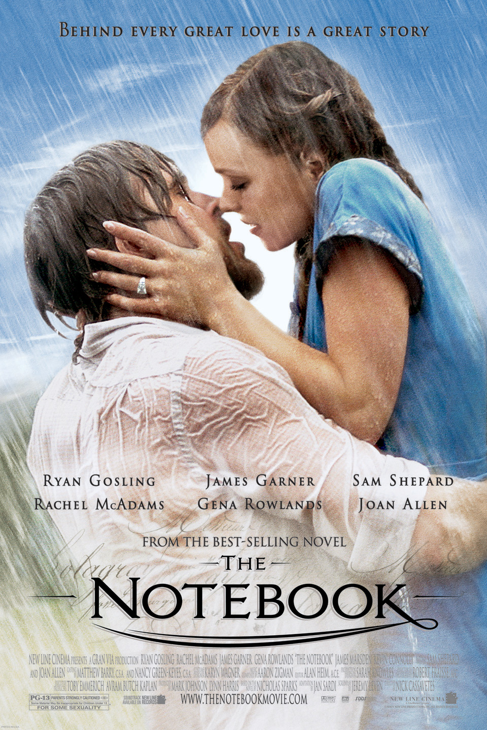 Keyart for The Notebook.