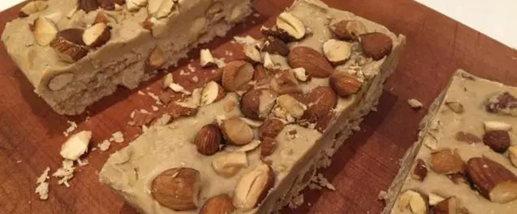 Healthy Recipe: Almond Nougat – WARNING it's Seriously Addictive!