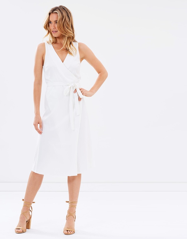 Tash Oakley White Dress