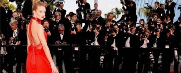 Red Was Red Hot with Celebrities at The Cannes Film Festival
