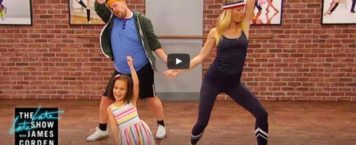 Watch Celebrities Learn Choreography off a Toddler in James Corden's Toddlerography