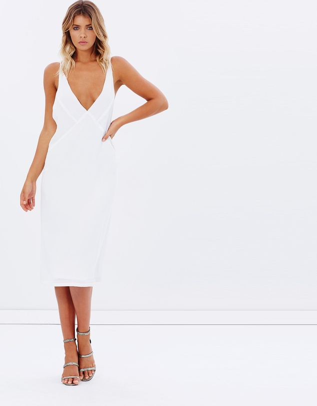 White Dress Maurie and Eve