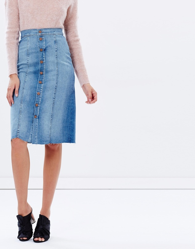 Mother Denim Skirt